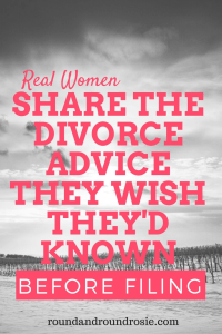 divorce advice for women