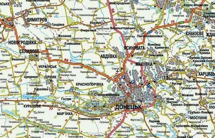 Донецк — окружная дорога