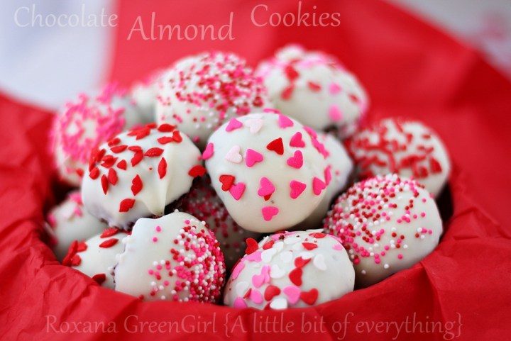 Chocolate Almond Cookies Recipe