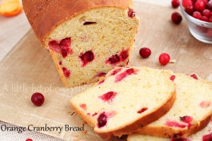 orange cranberry bread | Roxanashomenaking.com
