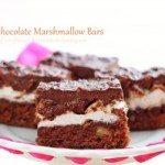 Chocolate Marshmallow Bars