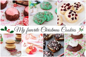 my favorite Christmas cookies