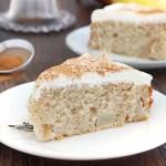 Cinnamon pear cake