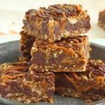 Carmelitas – caramel chocolate oatmeal bars