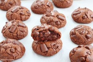 Cinnamon chocolate truffle cookies recipe 1