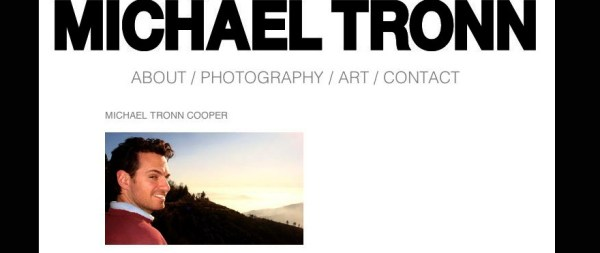 Michael Tronn Website