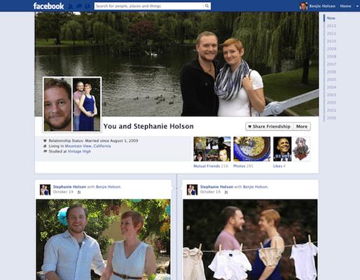 Facebook Friendships Get a Timeline Upgrade