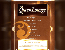 Queen Lounge Promo Ad
