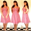 Collectif gingham dress