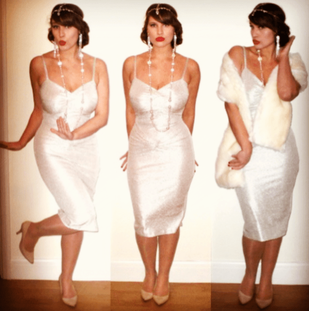 Roxy Vintage Style Prohibition Party Outfit