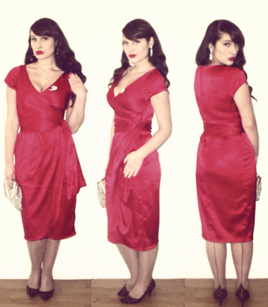 Get Your Baubles Out In A Vintage Style Christmas Party Dress - Roxy ...