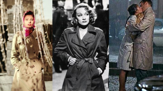 iconic trench coats