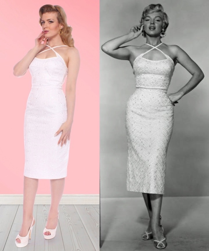 Glamour Bunny Marilyn dress (1)