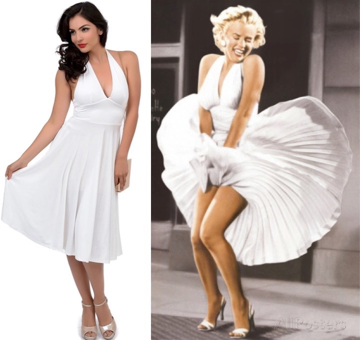 Seven Year Marilyn dress (1)