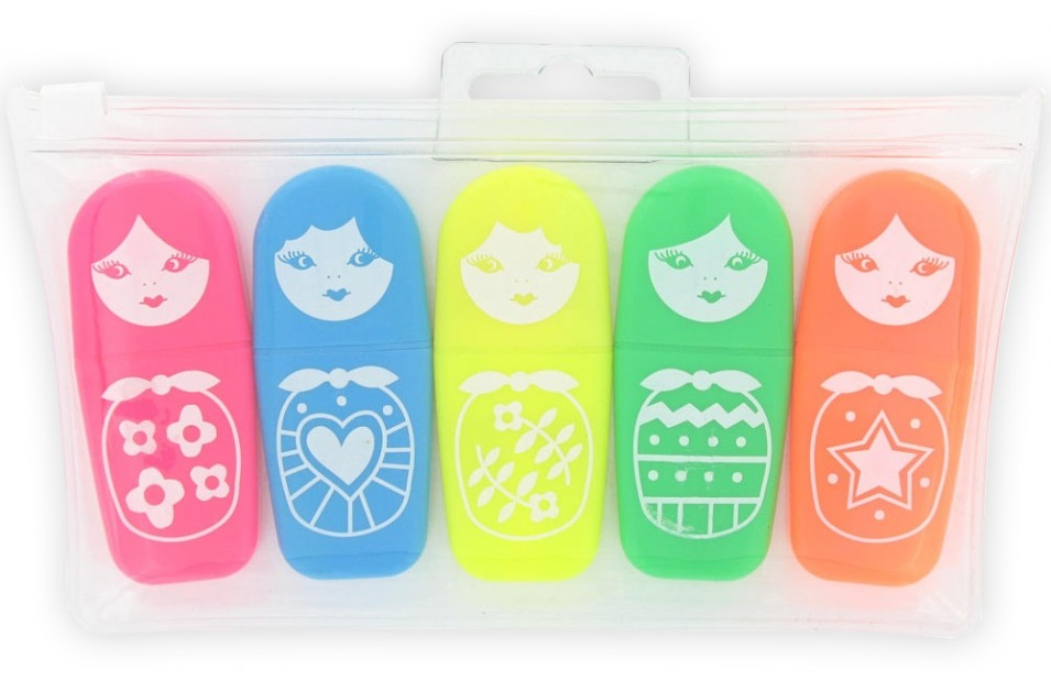 russian doll highlighters