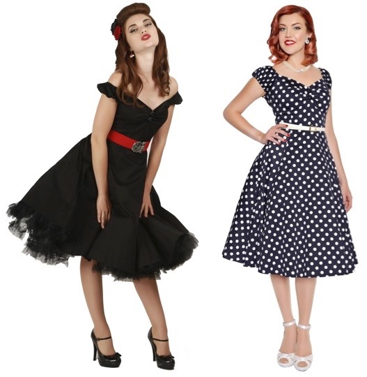 pinup style circle dresses Collectif