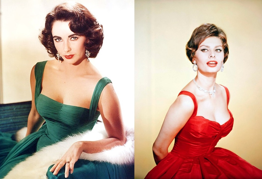Pinup style icons