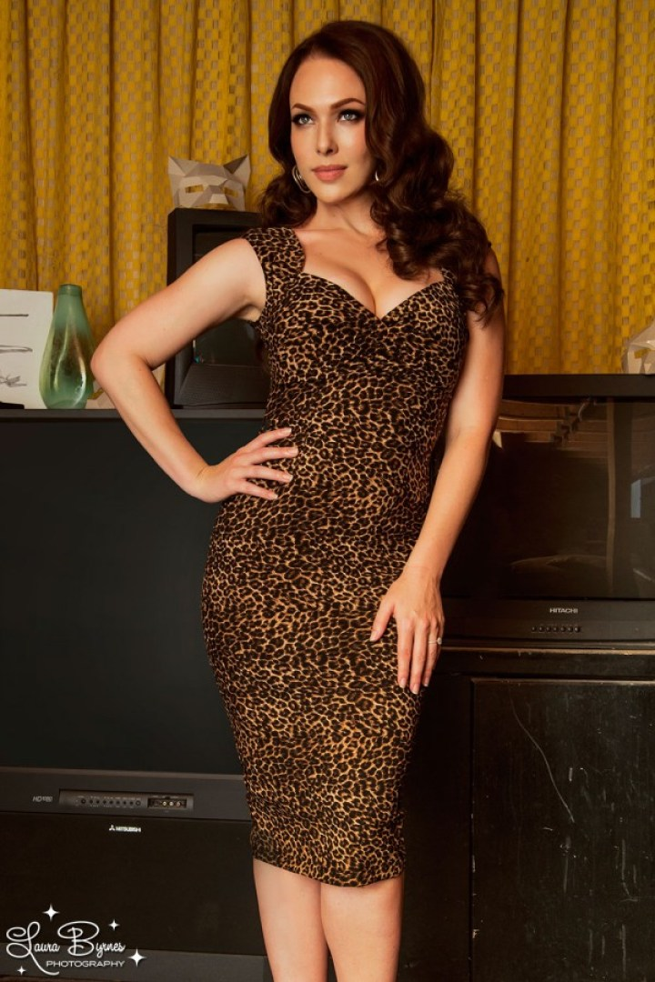 Pinup Girl Clothing Erin Leopard