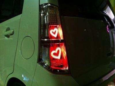 スズキ ワゴンRスティングレー LEDテールワンオフ2