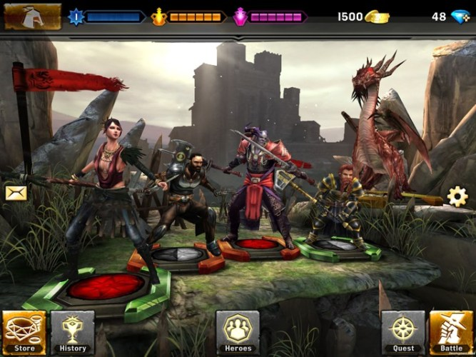 Heroes of Dragon Age iTunes