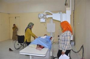 Pelayanan foto pasien di Instalasi Radiologi RSD Madani
