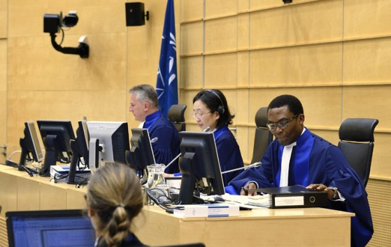 Members of the International Criminal Court in the Hague, Netherlands (AFP Photo / HO)