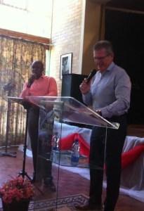 Preaching at CA J'Burg