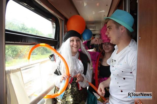 Участники инфотура «Библио Глобус» на ретро-поезде добрались до Анапы