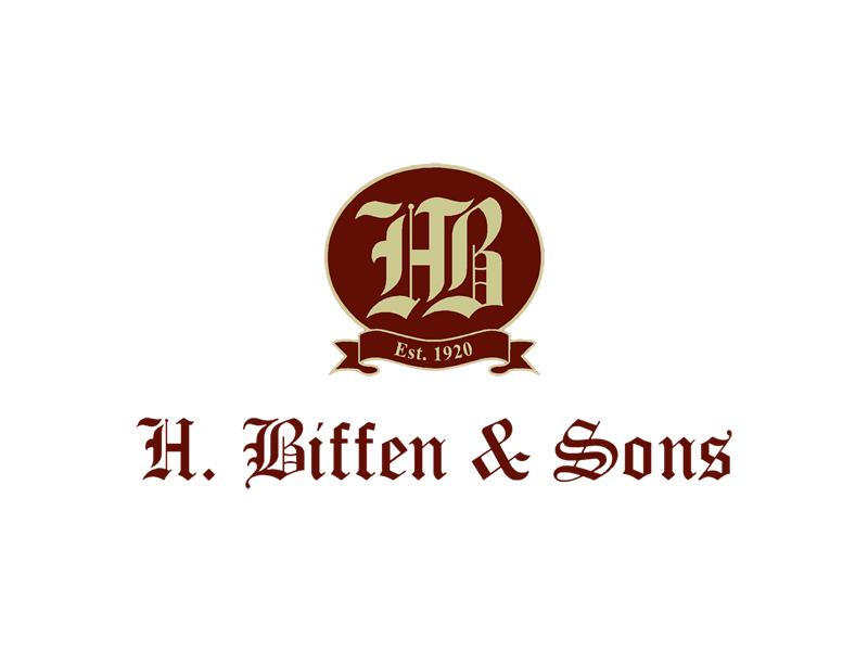 RT signs client H. Biffen