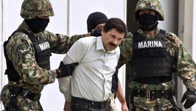 Арест Хоакина Гусмана