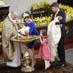 Таинство крещения совершил королевский епископ Эрик Норман Свендсен