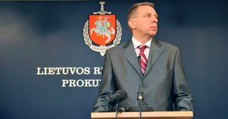 Генеральный прокурор Литвы Дарюс Валис