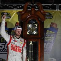 NSCS: Earnhardt Finally Wins Elusive Grandfather Clock on Special Day at Martinsville