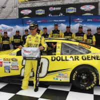 NSCS: Matt Kenseth Wins Pole at Bristol