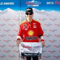 NSCS: Joey Logano Wins the Coors Light Pole for the Toyota Owners 400