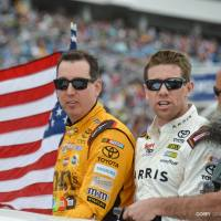 NSCS: Edwards Dumps Teammate for Second Straight Win