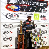 ARCA: Justin Haley Wins on the Dirt at Springfield for First Series Victory