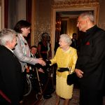 Meeting Her Majesty The Queen, 2012.