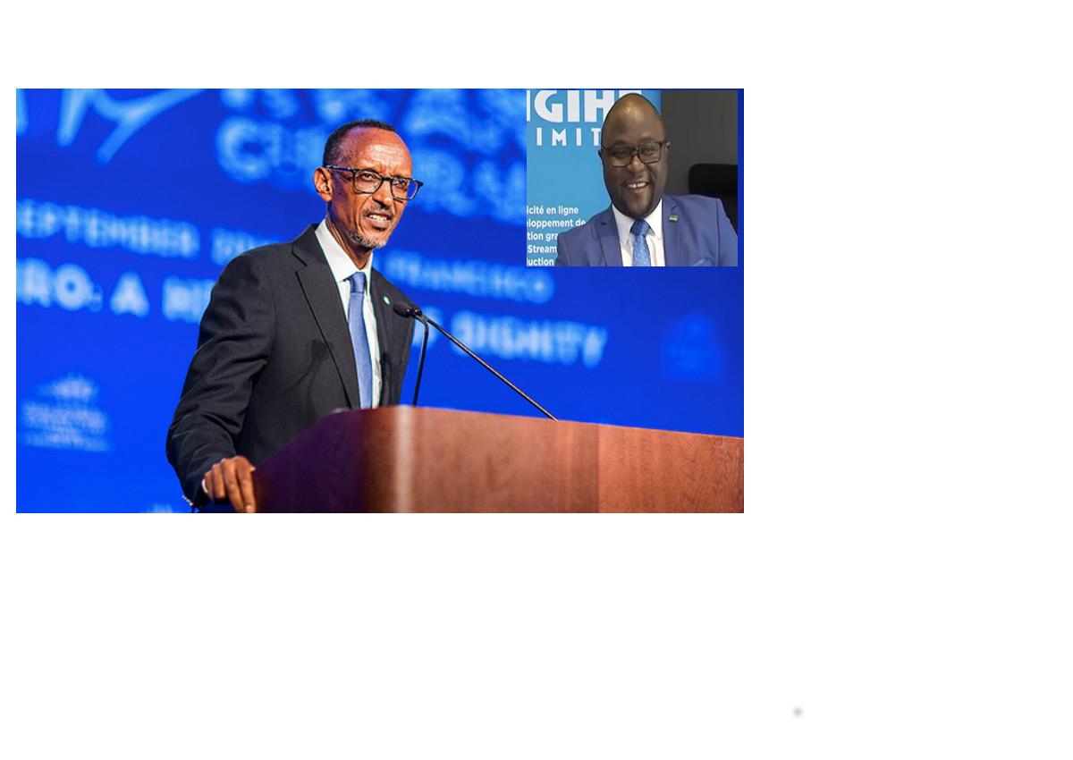 Rwanda Cultural Day: Lorys Munderere, mwishywa wa Bagosora, yasabye Kagame kongera kwiyamamaza