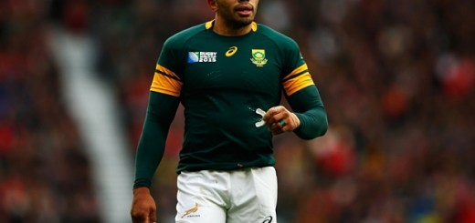 LONDON, ENGLAND - OCTOBER 17: Bryan Habana of South Africa looks on during the 2015 Rugby World Cup Quarter Final match between South Africa and Wales at Twickenham Stadium on October 17, 2015 in London, United Kingdom.  (Photo by Dan Mullan/Getty Images)