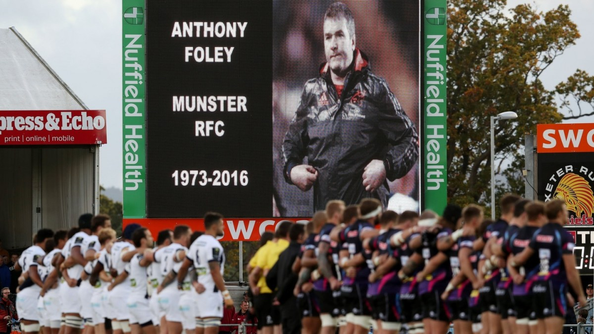 Clermont Auvergne Fans To Pay Moving Tribute To Anthony Foley This Weekend