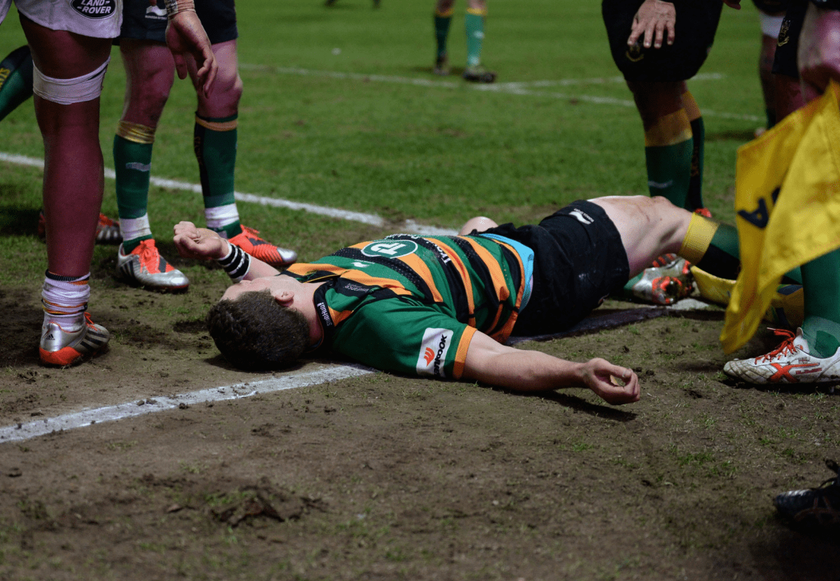 George North Stood Down By Northampton