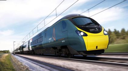 Pendolino in Avanti West Coast livery
