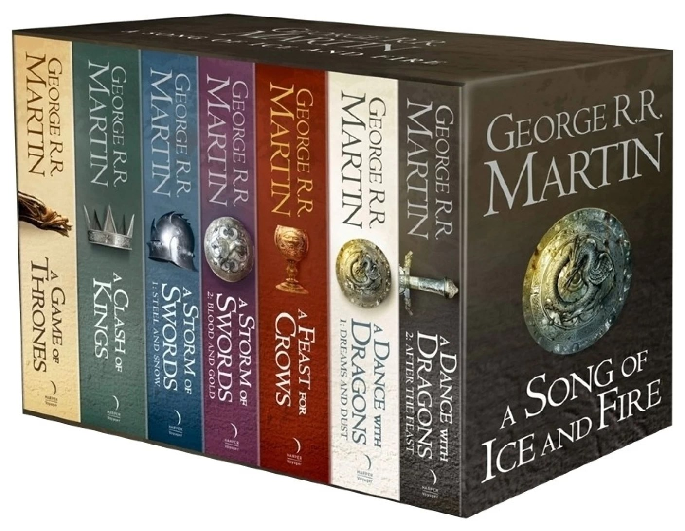 GAME OF THRONES: THE STORY CONTINUES: 7 Book Boxset - Buy GAME OF THRONES: THE STORY CONTINUES ...