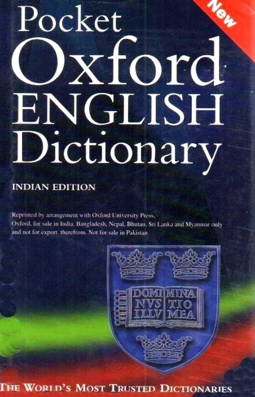 POCKET OXFORD ENGLISH DICTIONARY 10th Edition - Buy POCKET OXFORD ENGLISH DICTIONARY 10th ...