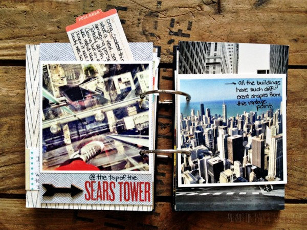 More photos of the Sears Tower with a hidden journaling tab.