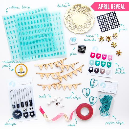 OhDeerMe April Embellishment Kit
