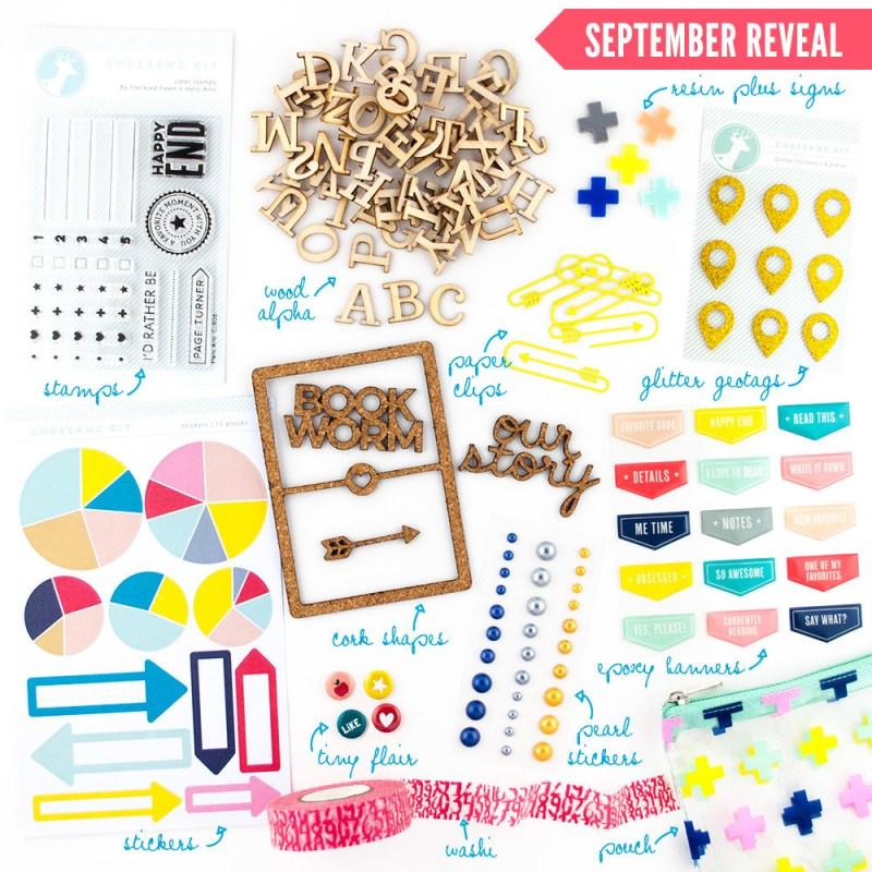 OhDeerMe embellishment kit September