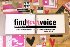 Find Your Voice Logo Deskshot 02 w date