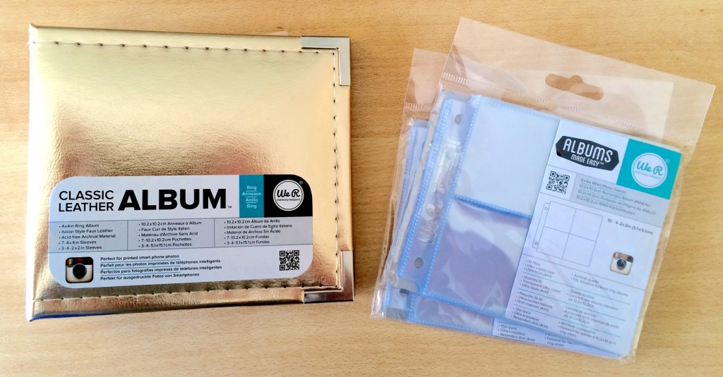 Find Your Voice DIY Kit - Album and Page Protectors